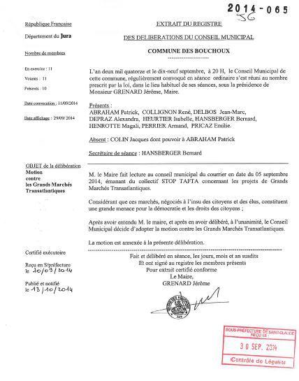 Les Bouchoux motion Tafta 1