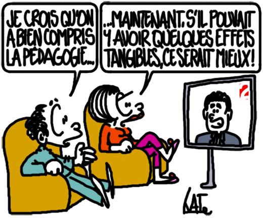 Manuel Valls à la télé