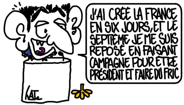 Sarkozy a créé