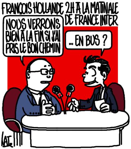 François Hollande chez Patrick Cohen