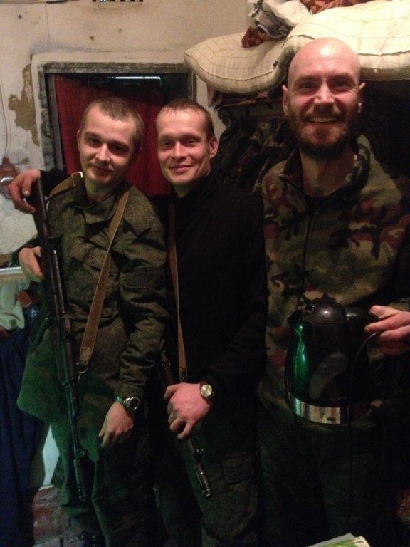 Evgeni Pavlenko, à droite
