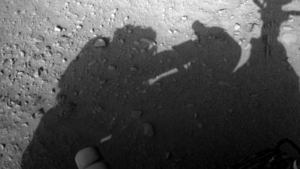 La photo que  je surnomme la Conspiration de Mars Curiosity.