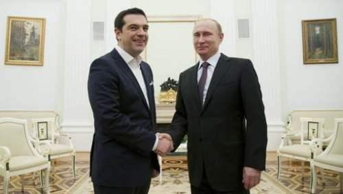Alexis Tsapiras et Vladimir Poutine