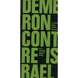 Demeron-Pierre-Contre-Israel-Livre-500095957_ML