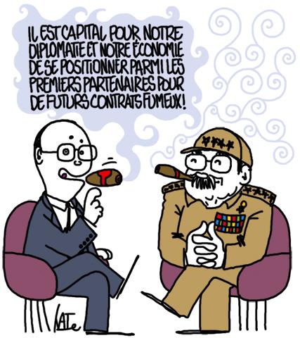 un tabac à la Havane