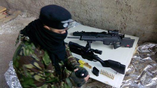 NATO-puppet Azov Battalion Wears Daesh Insignia-11