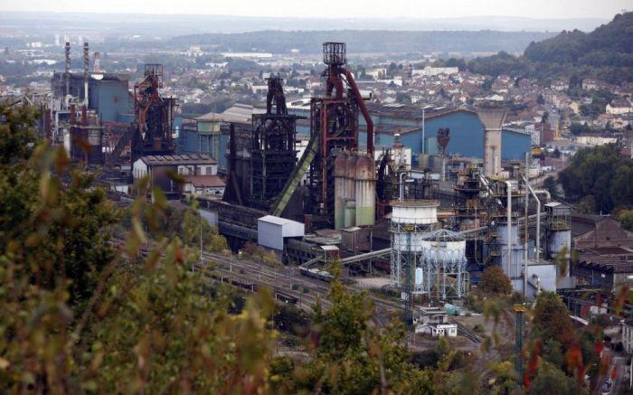 Le site ArcelorMittal de Florange à Hayange en Moselle
