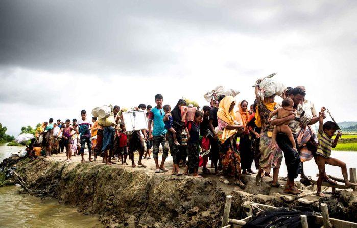 Rohingyas exode